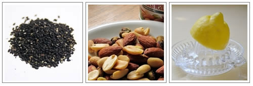 カルシウムやビタミンE、ビタミンCが多く含まれてる食べ物