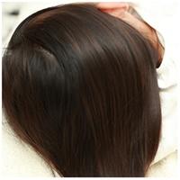 サラサラの髪